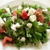 Peynirli Roka Salatası